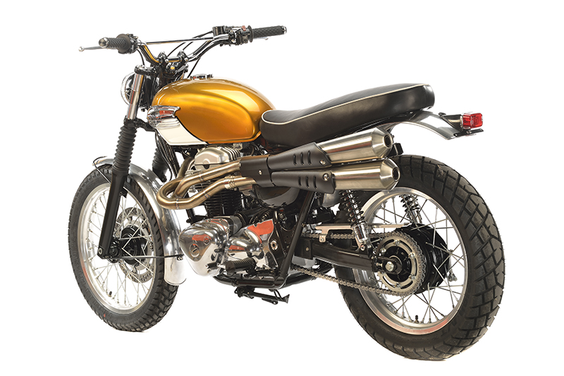 kawasaki w650 scrambler felix motocyclette. Black Bedroom Furniture Sets. Home Design Ideas